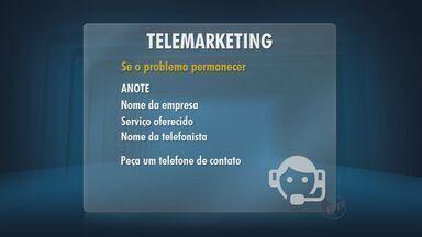 Moradores reclamam de ligações indesejadas de telemarketing - Confira como bloquear ligações de telemarketing.