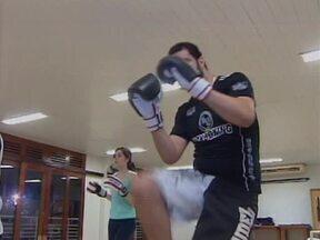 Atletas do kickboxing se preparam para participar da Copa Brasil no Paraná - Atletas do kickboxing se preparam para participar da Copa Brasil no Paraná