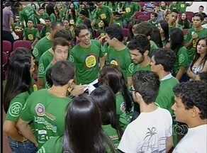 Faculdade em Palmas promove trote solidário - Faculdade em Palmas promove trote solidário