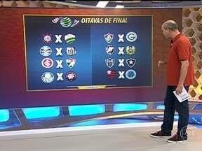 Confrontos das oitavas de final da Copa do Brasil são definidos em sorteio - Times cariocas ficam no mesmo grupo e enfrentam times complicados na próxima fase da competição.