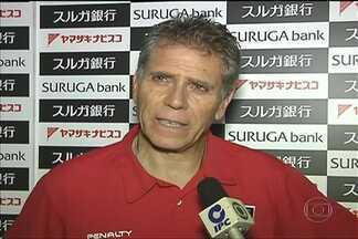 Paulo Autuori e Aloísio falam da preparação do São Paulo para duelo contra o Kashima - Tricolor está no Japão para a disputa da Copa Suruga.
