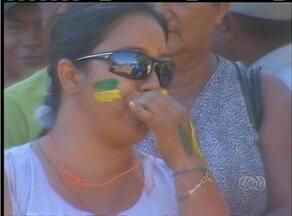 Manifestantes fazem novo protesto em frente ao Incra em Palmas - Manifestantes fazem novo protesto em frente ao Incra em Palmas
