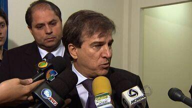 Corregedor do Ministério Público Estadual participa de reunião com vereadores - Ele se reuniu com os vereadores de Campo Grande para discutir a atuação deles na casa de leis