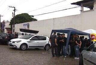 Agentes de medidas socioeducativas entram no 2º dia de greve em SE - 50% do efetivo foi mantido nas unidades mantidas pela Fundação Renascer.