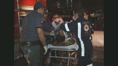 Mulher que teve pé amputado após ser atropelada por trem em Limeira permanece internada - Permanece internada a mulher que teve um pé amputado depois de ser atropelada ontem por um trem em Limeira.