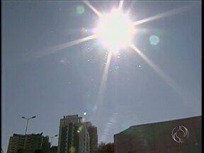 Umidade do ar fica abaixo dos 30% na região norte do Estado - Tempo seco prejudica a saúde