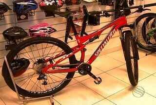 Vendas de bicicletas crescem 20% em Aracaju - A comercialização de bicicletas em Aracaju teve um aumento de 20%, no primeiro semestre de 2013.