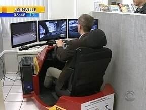 Simulador criado em Florianópolis pode ser utilizado em auto escolas de todo país - Simulador criado em Florianópolis pode ser utilizado em auto escolas de todo país