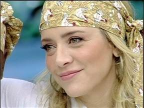 Christine Fernandes é a segunda a deixar o Super Chef Celebridades - Atriz, que disputou a Panela de Pressão com Nando Cunha, recebeu apenas 20% dos votos para continuar no reality