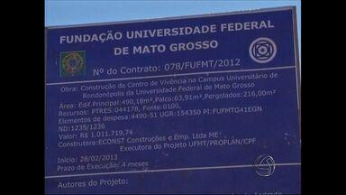 Estudantes reclamam da estrutura no campus da UFMT em Rondonópolis - Estudantes reclamam da estrutura no campus da UFMT em Rondonópolis. Segundo eles, faltam professores, equipamentos e incentivos a projetos.