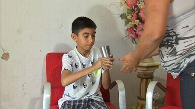 Tratamento melhora qualidade de vida de crianças com paralisia infantil - Tratamento é feito no Hospital Albert Sabin.