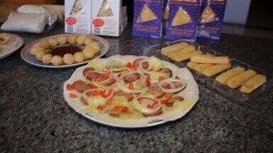 Cozinheiro faz sucesso com pratos inovadores feitos a partir da tapioca - Conheça mais essa história do Nosso Ceará.