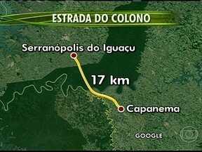Câmara dos Deputados aprova PL que reabre a antiga estrada do Colono, no Paraná - A estrada de 17 Km, está localizada entre os municípios de Serranópolis do Iguaçu e Capanema, no Parque Nacional do Iguaçu. A Câmara discutia o projeto de lei que determina a reabertura desse caminho e outras estradas em unidades de preservação.