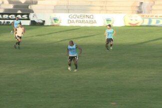 Treze comemora melhora do sistema defensivo - Alvinegro não sofreu gol nas duas últimas partidas que disputou na Série C do Campeonato Brasileiro. O Galo se prepara para encarar o Sampaio Corrêa no próximo domingo.