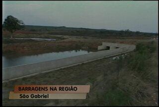Obras de duas barragens da região devem ser retomadas - As obras nas barragens de Jaguari em São Gabriel e Taquarembó em Dom Pedrito devem começar até o fim deste ano.
