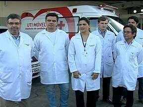 Instituto de Cardiologia do DF passa a fazer transplantes de órgãos - Pela primeira vez, a unidade que é conveniada ao SUS fez um transplante de rim. Júlio César Roque, de 38 anos, comemoraram a cirurgia. Ele vinha enfrentando problemas renais há três anos.