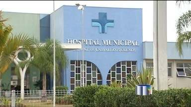 Galho de árvore quebra e atinge estudante em São José dos Campos (SP) - Aluna, de apenas quatro anos, foi atingida e está internada no Hospital Municipal.