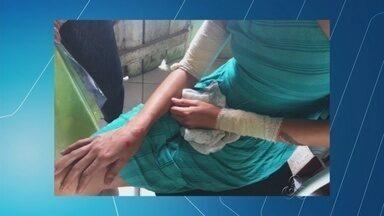 Criança morre após ser atropelada em faixa de pedestre, no Amazonas - Menina de 1 ano e seis meses estava no colo da mãe na hora do acidente.
