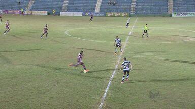 Sertãozinho empata com XV de Piracicaba - Touro continua em situação complicada na Copa Paulista.