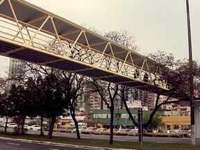 Fica pronta reforma da passarela do Terminal do Rita Maria, na capital - Fica pronta reforma da passarela do Terminal do Rita Maria, na capital