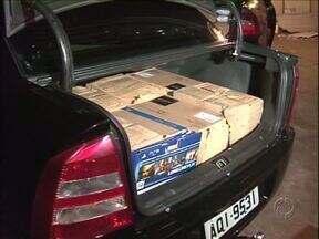 Depósito de contrabando foi fechado em Umuarama nessa quarta-feira - 4 pessoas foram presas.