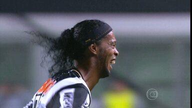 Atlético-MG empata com o Fluminense no Independência - Atlético-MG empata em 2 a 2 com o Fluminense no Independência com dois gols de Ronaldinho Gaúcho