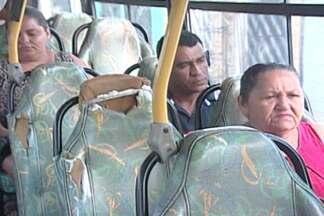 Veja as dificuldades de quem utiliza o transporte público na Grande João Pessoa, PB - Moradores de um bairro de Bayeux reclamam de falta de estrutura nos ônibus.