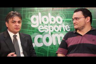 Senador Cássio Cunha Lima fala de projeto que limita reeleição de dirigentes esportivos - Projeto de lei já foi aprovado no Senado Federal e agora vai para a Câmara dos Deputados. Se for sancionado, dirigentes só poderão ficar no máximo oito anos no cargo.