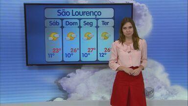 Confira a previsão do tempo para esta sexta-feira (6) no Sul de Minas - Confira a previsão do tempo para esta sexta-feira (6) no Sul de Minas