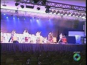 Apresentação de taiko é uma das atrações do festival Nipobrasileiro em Maringá - O festival começa hoje e vai até o dia 15 de setembro