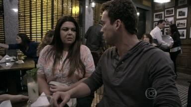 Perséfone proíbe Michel e Patrícia de usarem seu apartamento - Daniel fica incomodado com a forma como Vanderlei trata a enfermeira