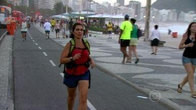 Pedestre convicta! Carioca Magda vai do Leblon ao Centro a pé para trabalhar - Com 49 anos, a moradora da Barra da Tijuca faz o que pode a pé e de bicicleta. No palco, ela conta sua história e especialistas comentam