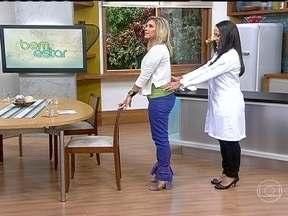 Exercícios para fortalecer os glúteos previnem lesões - Exercícios que fortalecem os glúteos ajudam a estabilizar o quadril e previnem lesões por estresse. Basta uma cadeira firme e disposição.