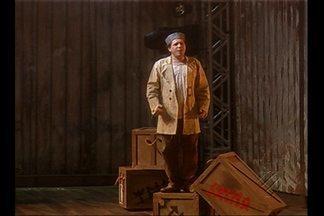 'O Navio Fantasma' traz mega produção ao palco do Theatro da Paz - Espétáculo de Richard Wagner mistura de teatro, dança, música.