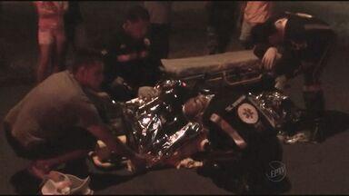 Motorista é preso após atropelar homem em Santa Cruz das Palmeiras - Teste do bafômetro constatou embriaguez.