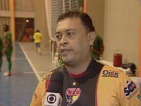Cajuína se prepara para enfrentar o Real Moitense na Liga Nordeste de Futsal - Cajuína se prepara para enfrentar o Real Moitense na Liga Nordeste de Futsal