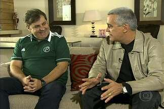Papo exclusivo: Gilson Kleina completa um ano à frente do Palmeiras - Técnico chegou ao clube em setembro de 2012, para substituir Luiz Felipe Scolari.