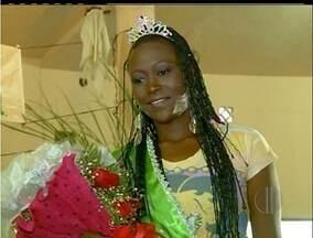 Miss Lavoura é eleita em Campos dos Goytacazes, Norte Fluminense - Criciana Veríssimo, de 20 anos venceu o concurso.Nove candidatas participaram dos desfiles.