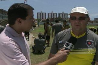 Kako Marques está em Fortaleza acompanhando o Botafogo, que joga contra o Tiradentes - Veja as novidades do time paraibano.