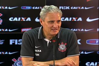 Tite fala do mau momento do Corinthians e da ausência de vitórias - Técnico atendeu a imprensa neste sábado, na vépera do jogo contra o Cruzeiro.