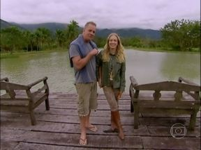 Angélica conhece o cantinho de Luiz Fernando Guimarães! - Sítio do ator é repleto de animais e lagos. Conheça!