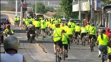 Moradores de Sobral promovem passeio ciclístico - Neste domingo ocorre o Dia Mundial sem Carro