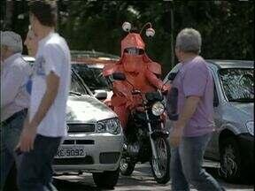 Campanha do Detran alerta para quantidades de acidentes com motos - Em 2012 foram 2 acidentes com motos por dia no estado.