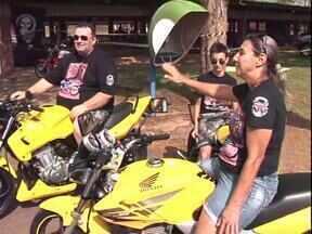 Encontro de motoqueiros em Paranavaí agita a cidade - Motoqueiros de toda a região vêm participar.