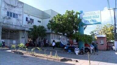 Pacientes recebem alta, mas Maternidade Santa Mônica continua superlotada - Falta de leitos nas maternidades credenciadas ao SUS também causou superlotação na maternidade do Hospital Universitário, que chegou a fechar as portas para as gestantes de baixo risco.
