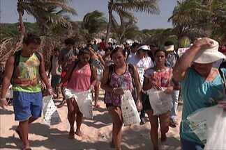Ação mobiliza voluntários em prol da conservação ambiental - Em São Luís, a campanha internacional levou à orla marítima, pessoas dispostas a ajudar a limpar as praias da capital e estimular atitudes sustentáveis.