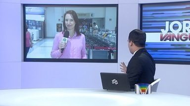 Shopping em São José dos Campos (SP) distribui senhas para megaliquidação - Grandes lojas vão oferecer descontos de até 80% em eletroeletrônicos. Distribuição será na noite deste sábado (21) a partir das 22h no acesso D.