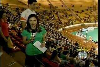 Em partida contra o Rio de Janeiro, Montes Claros busca virar o placar - Editora do GloboEsporte.com, Cida Santana, comenta atuação no time no início da partida.