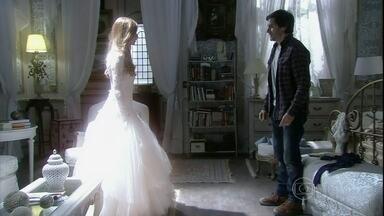 Thales tem visão com Nicole e tenta beijá-la - Lídia culpa Thales pelo sofrimento de Nicole
