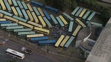 Protesto para três estações de ônibus em BH - Ato é contra a lei que retira trocadores no período noturno